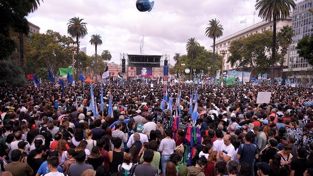 Organizaciones de DDHH y la izquierda denunciaron