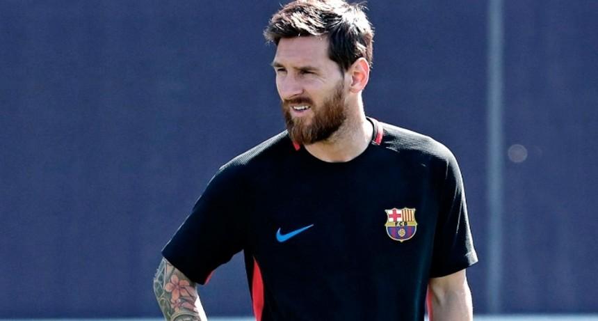 Messi se suma a una acción solidaria virtual en España