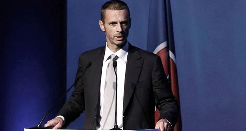 El presidente de la UEFA es