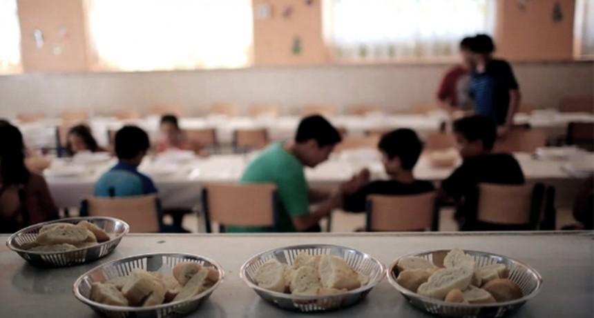Aumentan casi al triple los fondos para los comedores escolares bonaerenses