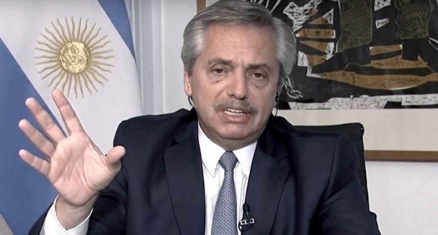Fernández dijo que la cuarentena continuará y que el pico será la segunda quincena de mayo