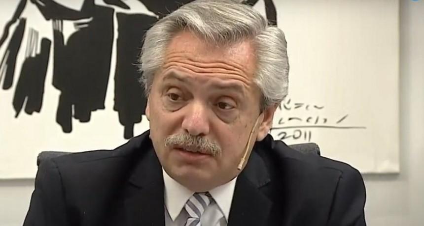 Fernández, sobre la liberación de presos: