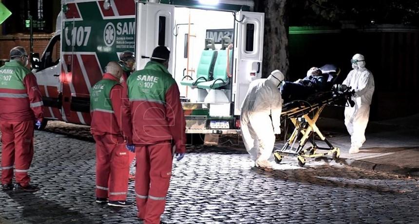 Suman 467 las víctimas fatales y 12.628 los infectados por coronavirus en Argentina