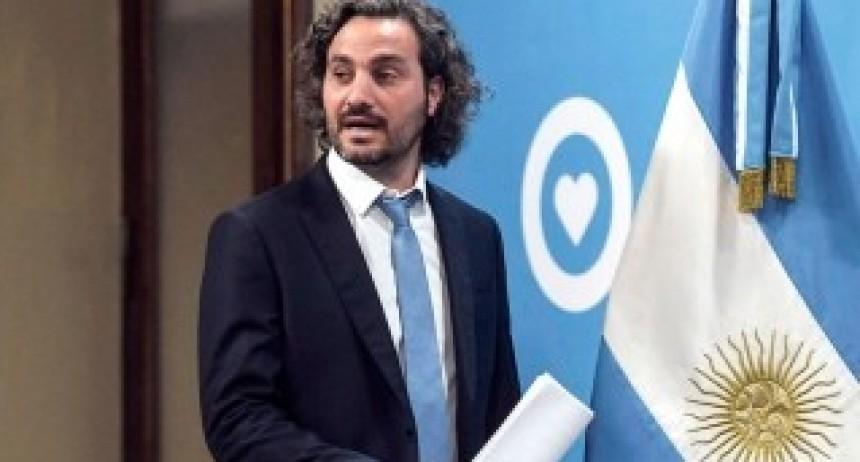 Cafiero presenta el informe Agenda 2030 sobre Desarrollo Sostenible